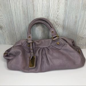 Marc by Marc Jacobs Classic Q Groove Lilac Leather